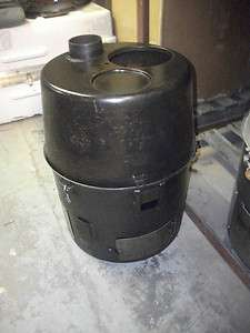 US Military H 45 Liquid Multi Fuel Space Heater, Pot Belly Stove