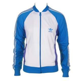 Adidas Originals  Adidas Superstar Tracksuit Top  White/Bluebird