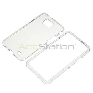 For Samsung Galaxy S2 i9100 Cell Phone Clear Crystal Hard Skin Case