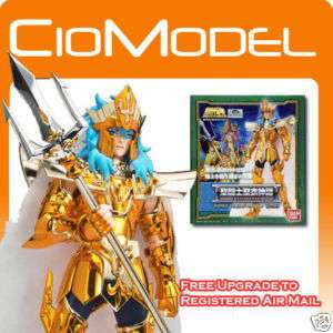 BANDAI SAINT SEIYA CLOTH MYTH GOD OF SEA POSEIDON SCALE