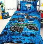 Monster Jam trucks Mash Grave Digger Double/Full Bed Quilt Doona Duvet
