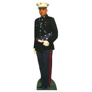 Modern Heroes Us Marine Life Size Poster Standup cutout