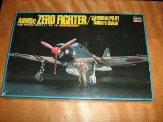 Hasegawa 1/32 zero fighter samurai pilot saburo sakai model kit A6M5