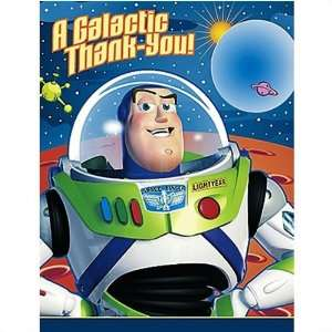 Buzz Lightyear Thank You Notes Toys & Games