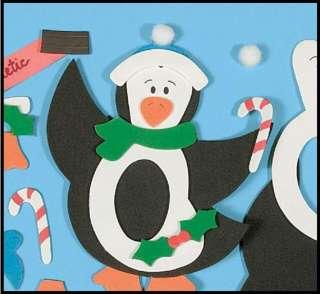 Penguin Frame Christmas Winter Craft Kit 4 Kids ABCraft