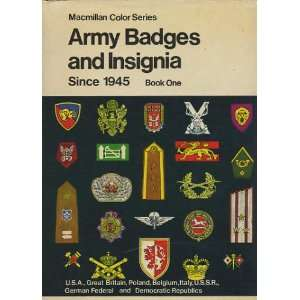 Army badges and insignia since 1945 U.S.A., Great Britain