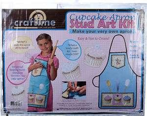 Apron Craft Kit, Stud art, Sewing, KIds Holiday Gifts