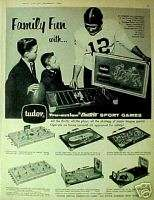 Tudor Electric Football~Baseball~Hockey Game Toy(61)Ad