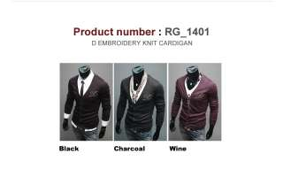 New Mens Casual Shawl Knit Sweaters Cardigan Collection 1 (SizeS,M) 6