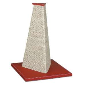 Petmate Boutique Cat Scratch Post, Warm Red