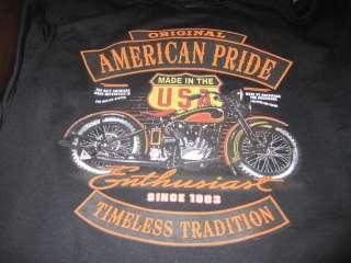 American Original SINCE 1903 Made Milwaukee SWEAT SHIRT BLACK