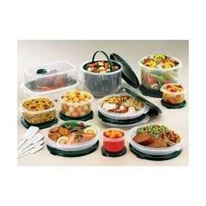 30 Piece Hunter Green Food Saver Set (330XL CSB) Category