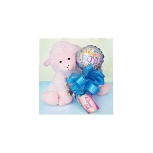 Lovely Lamb Gift Set Boy Baby