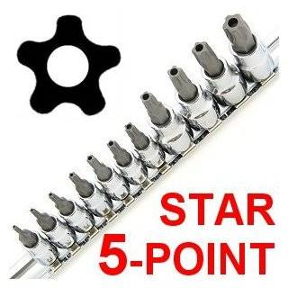 Anytime Tools 11 pc 5 POINT STAR TORX TAMPER PROOF SECURITY