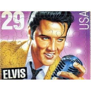 Elvis 550 Piece Puzzle USA 29 Cent Stamp Rock & Roll  Toys & Games