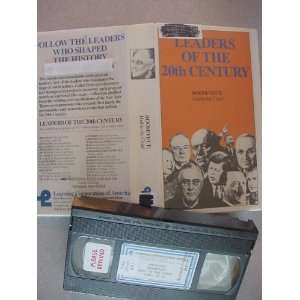 Video Tape of Leaders of The 20th Century Roosevelt Hail to the Chief