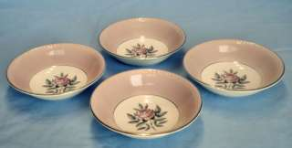 VTG 1950s Cunningham & Pickett Norway Rose Fruit Bowls