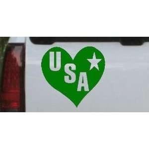 USA Heart Military Car Window Wall Laptop Decal Sticker Automotive