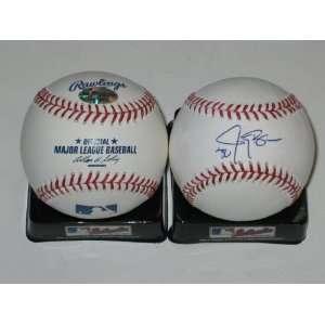 Jay Bruce Signed MLB Baseball Cincinnati Reds Sports