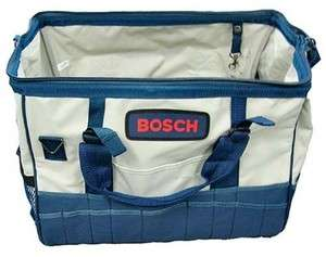 Bosch 18 40 Pocket Canvas Tool Carrying Bag 2610920089