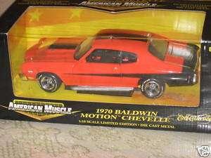 18 Ertl American Muscle 1970 Baldwin Motion Chevelle