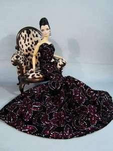 Candi Silkstone Barbie Fashion Royalty Model Muse Dress outfit Basic