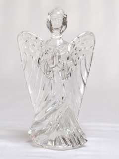 Retired Large Waterford Lead Crystal Angel of Hope