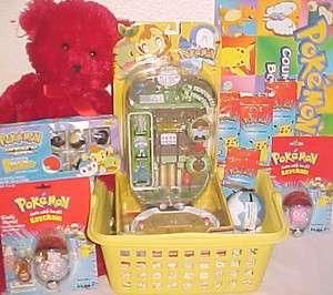pokemon toy EASTER BASKET ACTION FIGURE POKEBALL toys PLAYSET