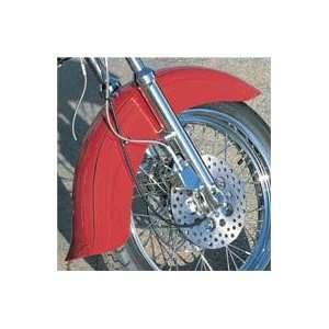BKRider Skirted Front Fender With Flip For Harley Davidson