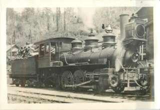 Steam Locomotive Train Oregon Logging Circa 1920s SNAPSHOT