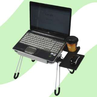 Laptop Buddy Portable Laptop PC Table Bed Side Compact