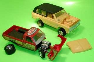 Hustler Datsun Pick Up Truck & Original AMT 1972 Chevy Blazer