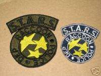 Resident Evil STARS RPD Patch Badge Crest Iron on Set