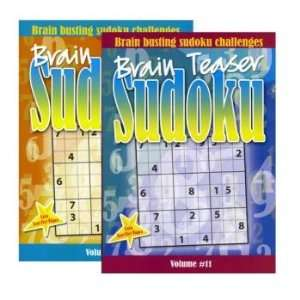 Brain Teaser Sudoku Puzzle Book Case Pack 48