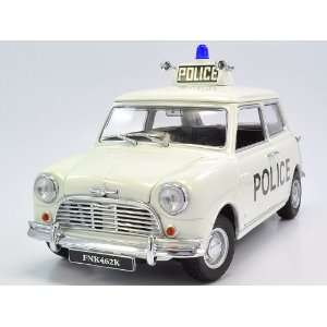 1968 Mini Cooper S Police 1/18 Kyosho Diecast Model Car Toys & Games
