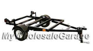 Folding Stand FOLD Up Single Rail Ramp Motorcycle Trailer Kit