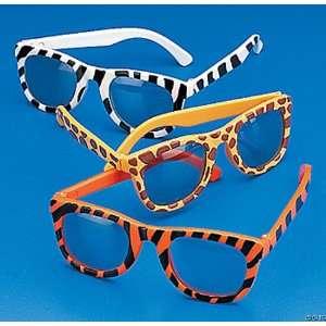 (12) New Pairs of Assorted Animal Print Sunglasses