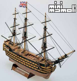Mamoli HMS Victory Wood Ship Model Kit MM12 1325 Scale NEW