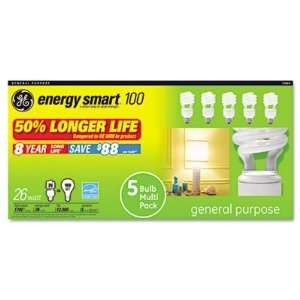 Conserve energy with this Energy Smart light bulb.   Soft white finish