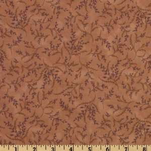 44 Wide Mrs. Marchs Autumn Forest Vine Peach Fabric By
