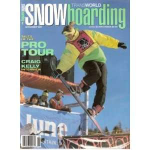 TransWorld SNOWboarding November 1989 Pro Tour, Craig