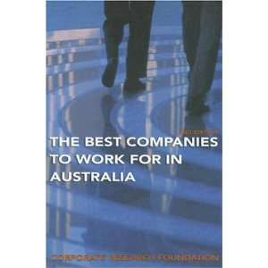 Best Companies to Work for in Australia (Corporate Research Foundation