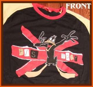 Daffy Duck Looney Toons Long Sleeve T Shirt 2XL