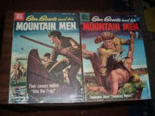 Ben Bowie and his Mountain Men 7 17    lot of 10 comics