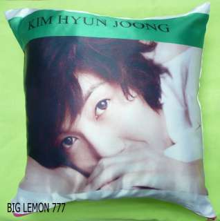 KIM HYUN JOONG ~ SS501 Photo Cushion Pillow Cover Q2