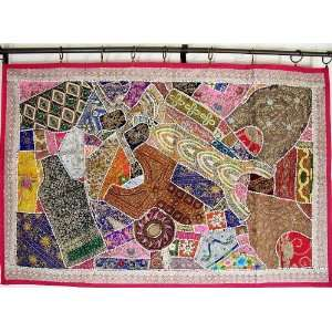 Large Decorative Antique Wall Hanging Tapestry Decor