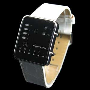 Day Date Binary Digital Unisex Mens Ladies Womens LED Wrist Sport
