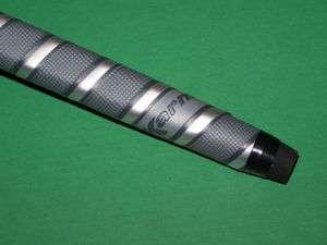 KARMA brand Grey/Black/Silver synthetic Winn type putter grip soft