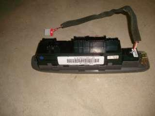02 09 Chevy Trailblazer Master Power Window Switch