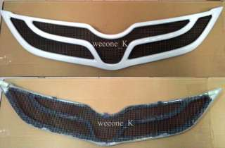 OYOA YARIS SEDAN 2010 FRON GRILL GRILLE WHIE |